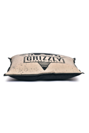 Cott N Curls Grizzly Bear Pillow - Back cropped
