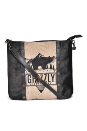 Cott N Curls Grizzly Bear Sling Bag - Product Mini Image