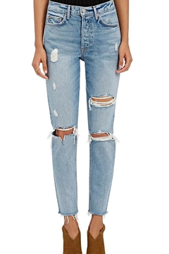 Shoptiques Product: Distressed High Rise Jeans