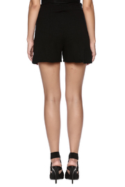 Groceries Apparel Black High Waisted Short - Back cropped