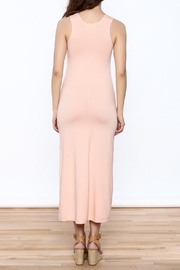 Groceries Apparel Powder Pink Maxi Dress - Back cropped