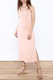 Groceries Apparel Powder Pink Maxi Dress - Product Mini Image