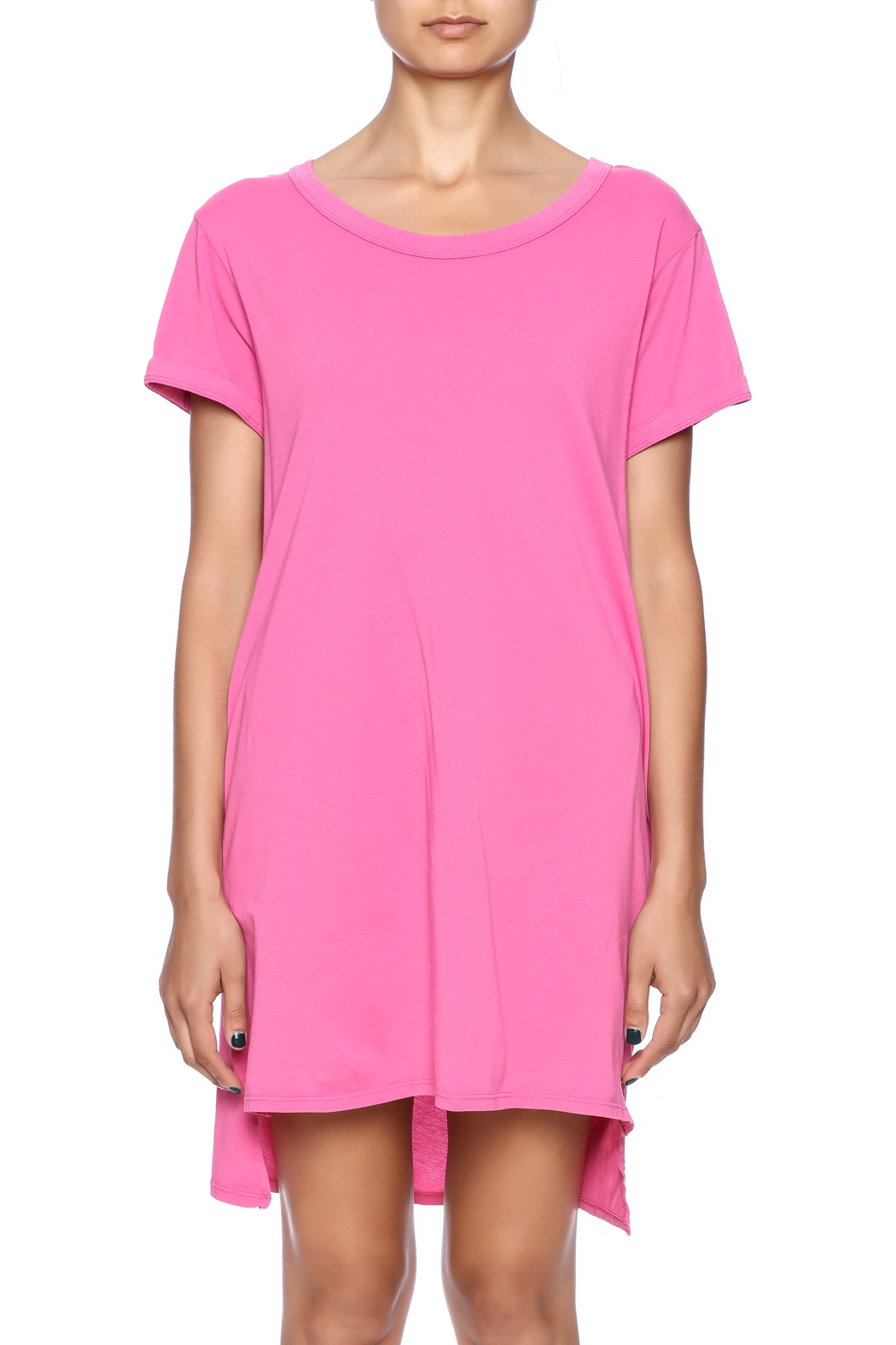 Groceries Apparel Sally Tee Dress - Side Cropped Image