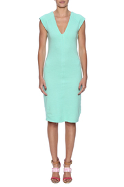Groceries Apparel Spritz Midi Dress - Front cropped