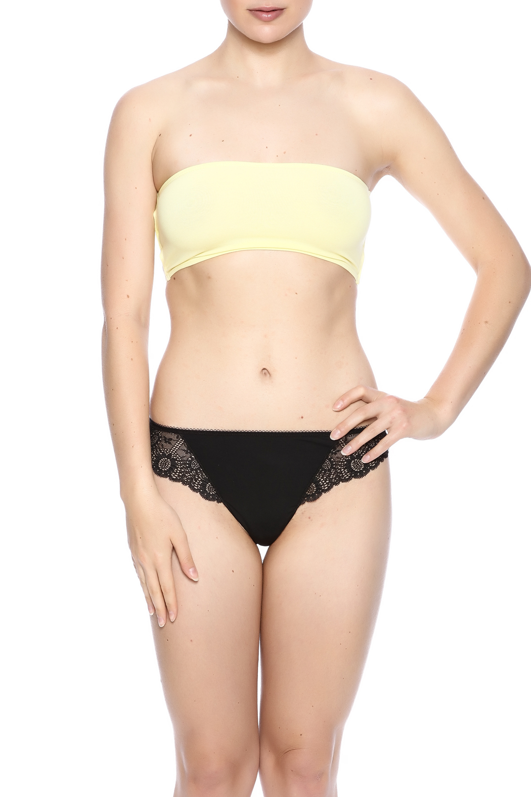 Groceries Apparel Strappy Bandeau - Main Image