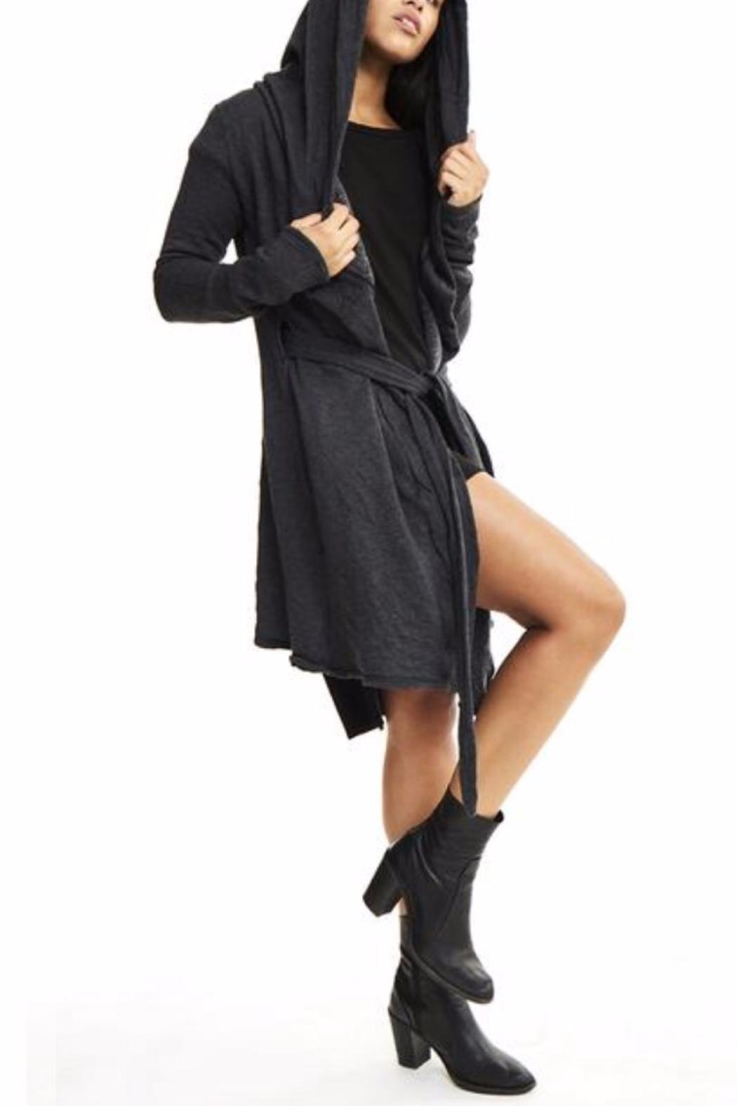 Groceries Apparel Kimmy Coat - Front Cropped Image