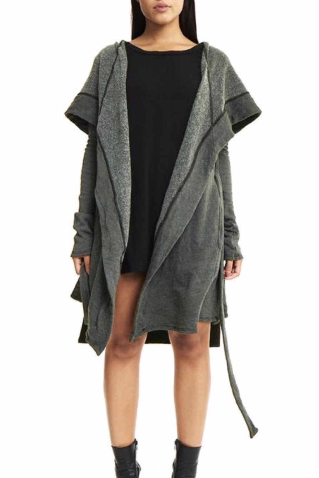 Groceries Apparel Kimmy Coat - Front Full Image