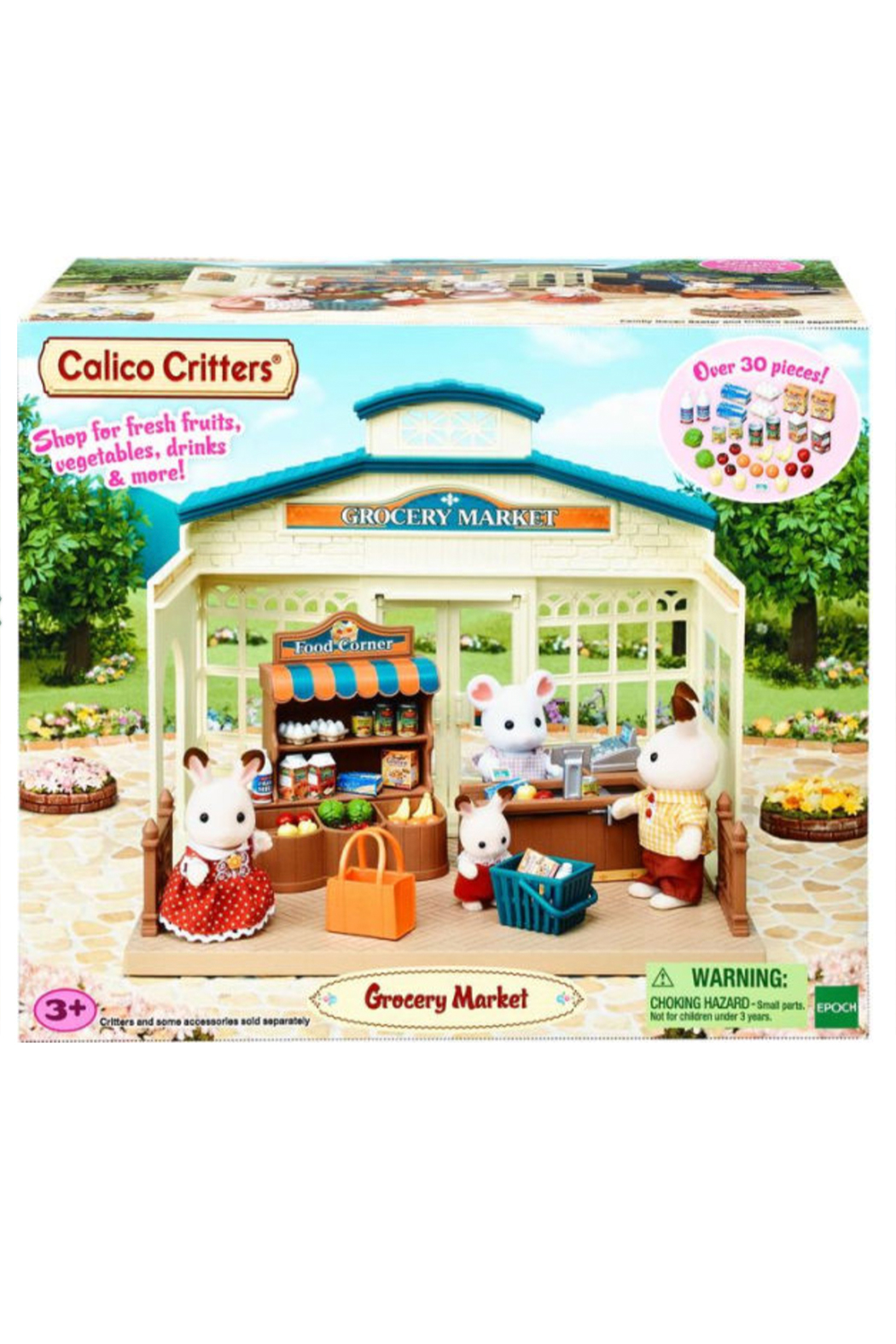 Calico Critters Grocery Market - Back Cropped Image
