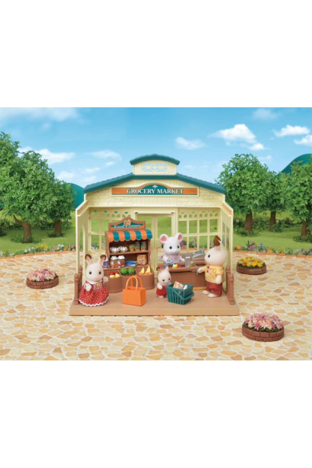 Calico Critters Grocery Market - Side Cropped Image