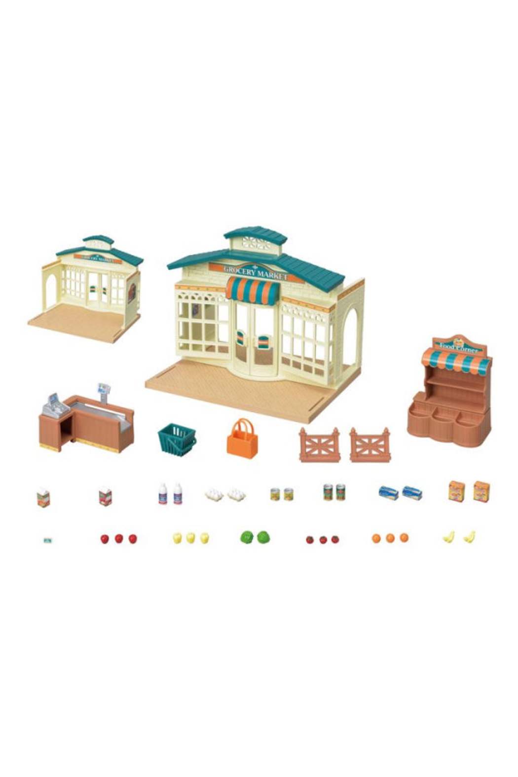 Calico Critters Grocery Market - Front Full Image