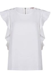 EsQualo Grommet Shoulder Top - Product Mini Image