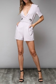 Do & Be Grommet Waist Romper - Product Mini Image