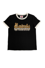 Sparkle City Groovy Ringer Tee - Product Mini Image