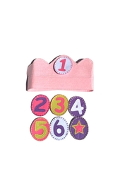 Groovy Holidays Birthday Number Crown - Product Mini Image