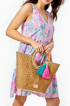 Lilly Pulitzer  Grotto Cane Tote - Product List Image