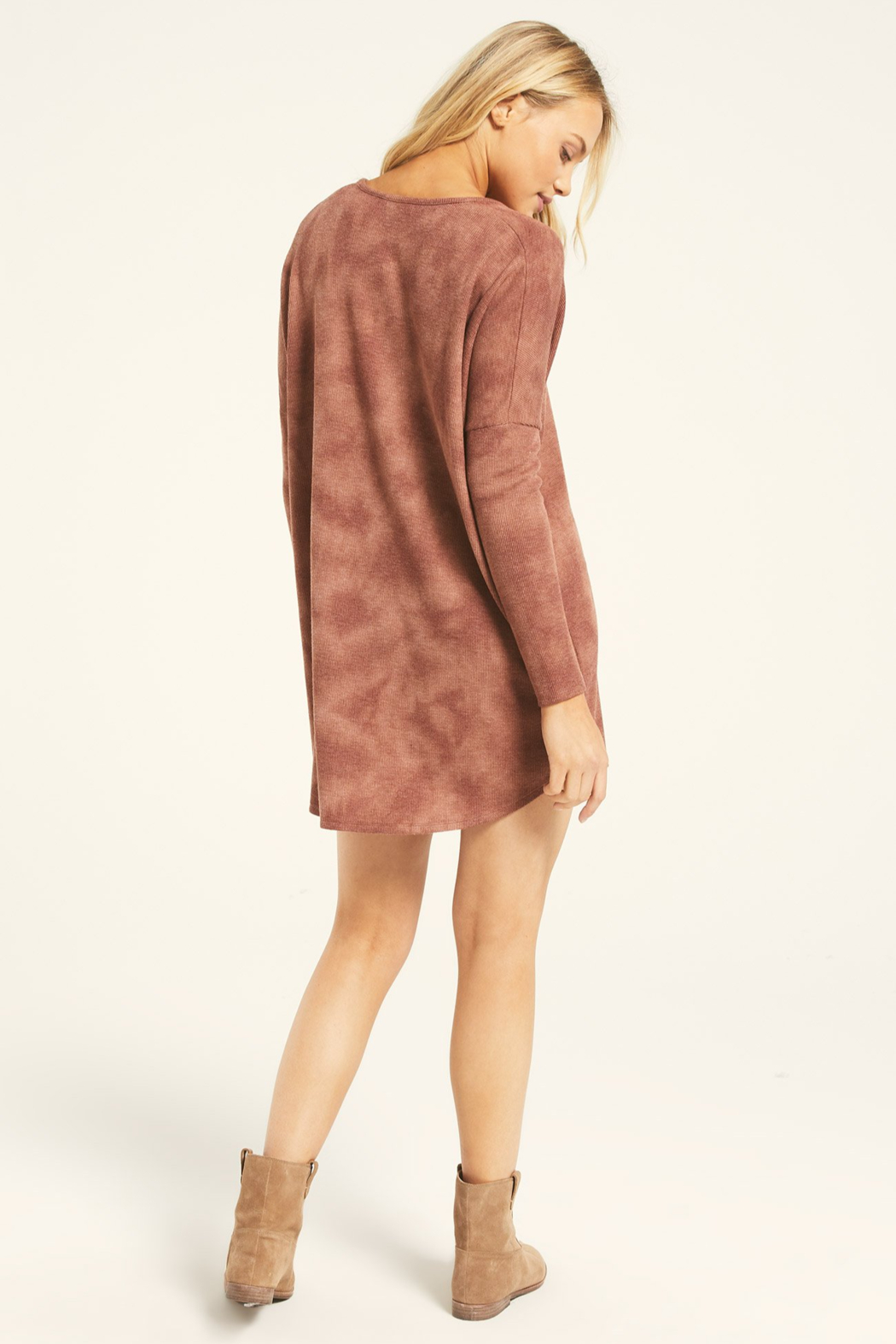 z supply Grove Thermal Dress - Side Cropped Image