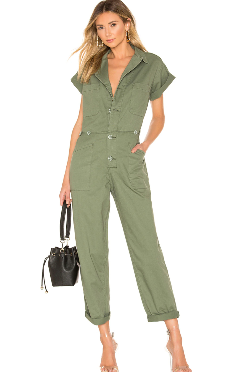Pistola Grover Jumpsuit - Front Cropped Image