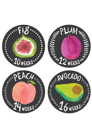 Lucy Darling Growing Garden Pregnancy Belly Stickers - Product Mini Image