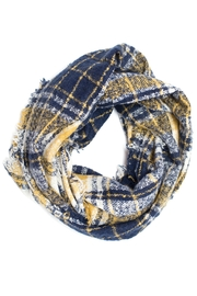 Love of Fashion Grunge Plaid Scarf - Product Mini Image
