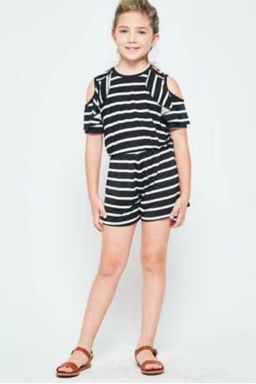 GTOG Midnight Romper - Front Cropped Image