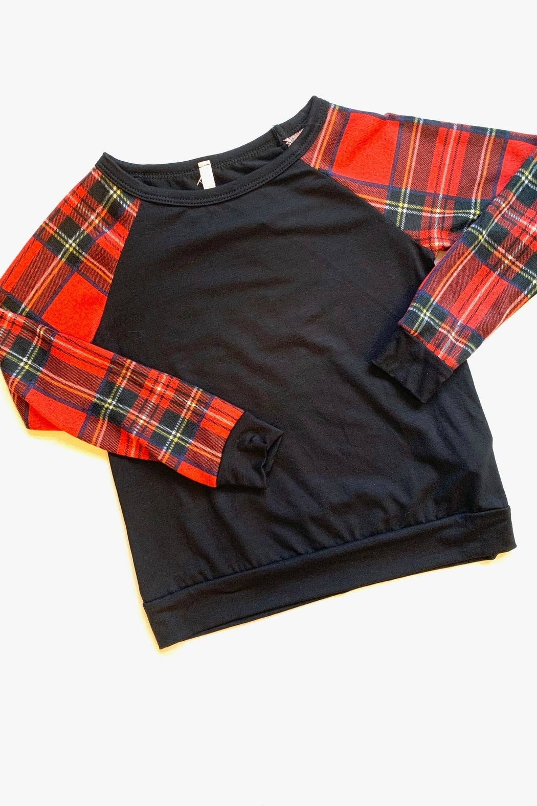 GTOG Red&Black Plaid - Front Cropped Image