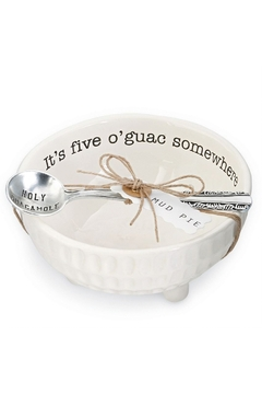 Mud Pie Guacamole Dip Cup Set - Alternate List Image