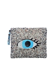 Guadalupe Design Ankhe' Evil-Eye Clutch - Front cropped