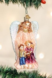 Old World Christmas Guardian Angel Ornament - Product Mini Image
