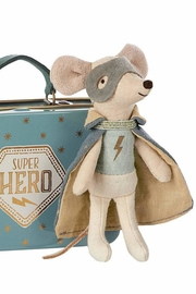Maileg Guardian Hero Mouse - Front cropped