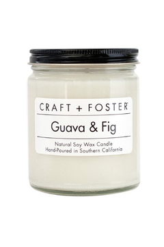 Craft and Foster Guava and Fig Candle - Alternate List Image