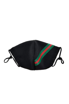 Shoptiques Product: Gucci Black Inspireed Face Mask