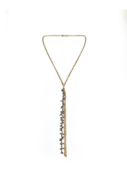 Deux Amies Gucci Chain w Multi Gemstones - Front cropped