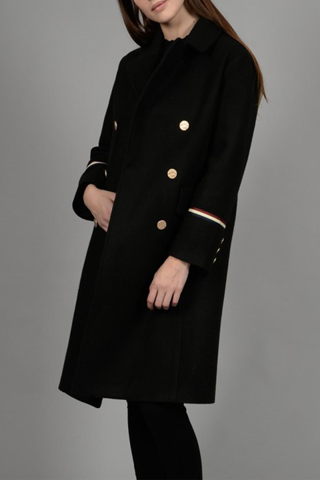 Molly Bracken Gucci Inspired Coat - Side Cropped Image
