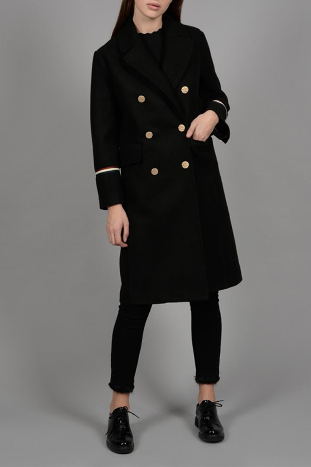 Molly Bracken Gucci Inspired Coat - Front Full Image