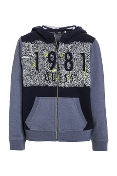 Guess Fleece Zip Up Jacket - Product List Image