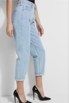Shoptiques Product: Super High Rise Mom Jeans