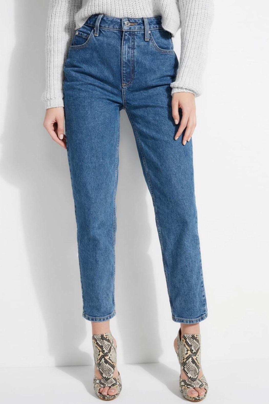 GUESS Jeans Super High Rise Mom Jeans - Main Image
