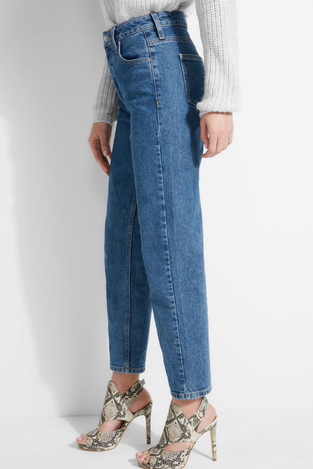 GUESS Jeans Super High Rise Mom Jeans - Side Cropped Image
