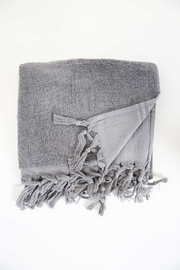 The Birds Nest GUEST TOWEL - LIGHT TERRY CANVAS (DARK GREY) - Product Mini Image