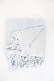 The Birds Nest GUEST TOWEL - LIGHT TERRY CANVAS (PEARL GREY) - Product Mini Image