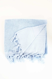 The Birds Nest GUEST TOWEL - LIGHT TERRY CANVAS (SERENITY BLUE) - Front cropped