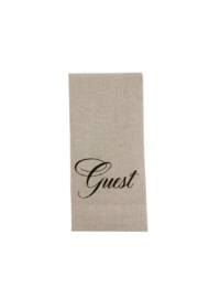 The Birds Nest GUEST TOWEL - Product Mini Image