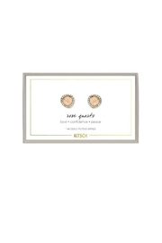 Kitsch Guiding Gems Earrings - Product Mini Image