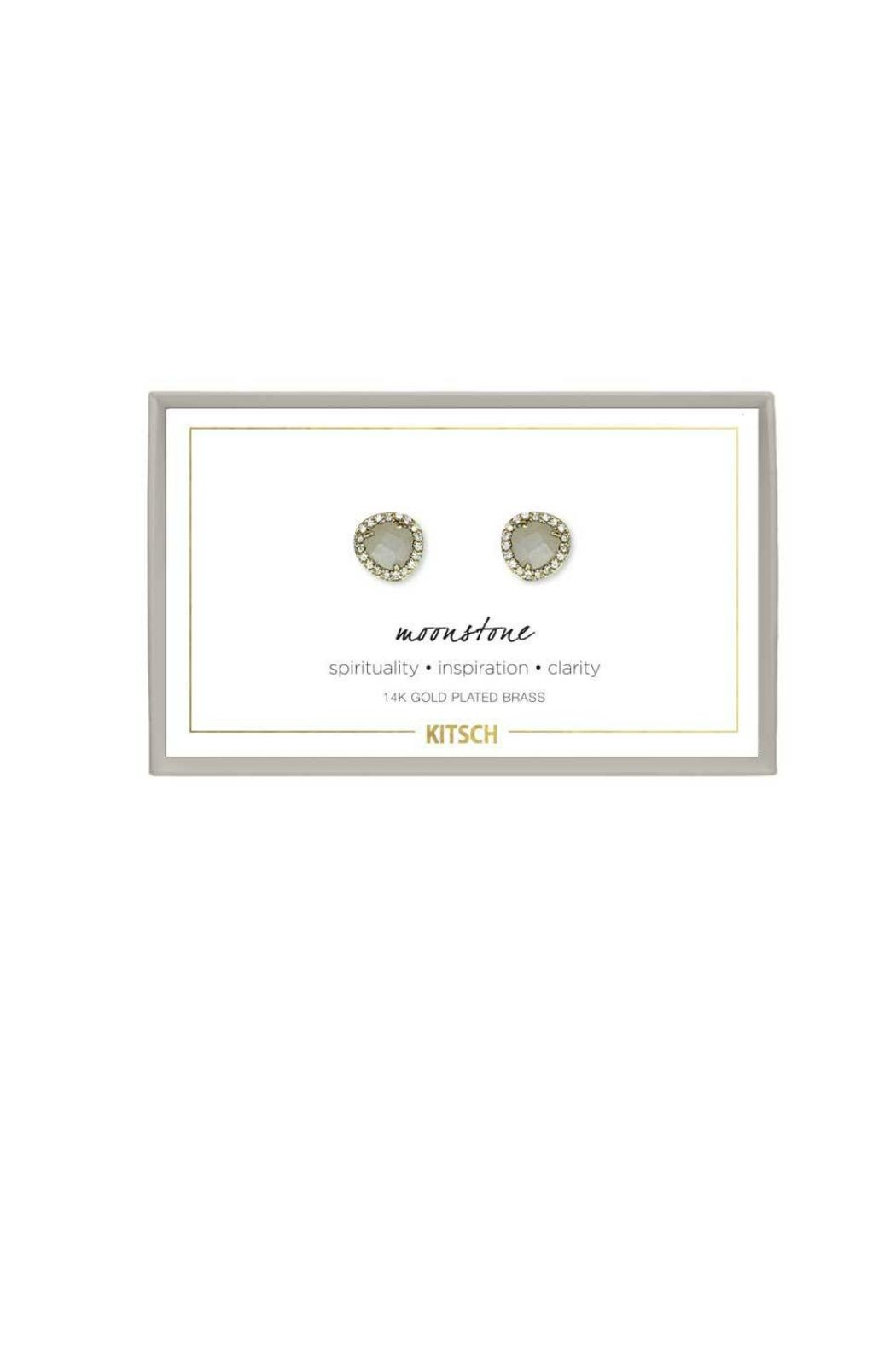 Kitsch Guiding Gems Earrings - Front Cropped Image