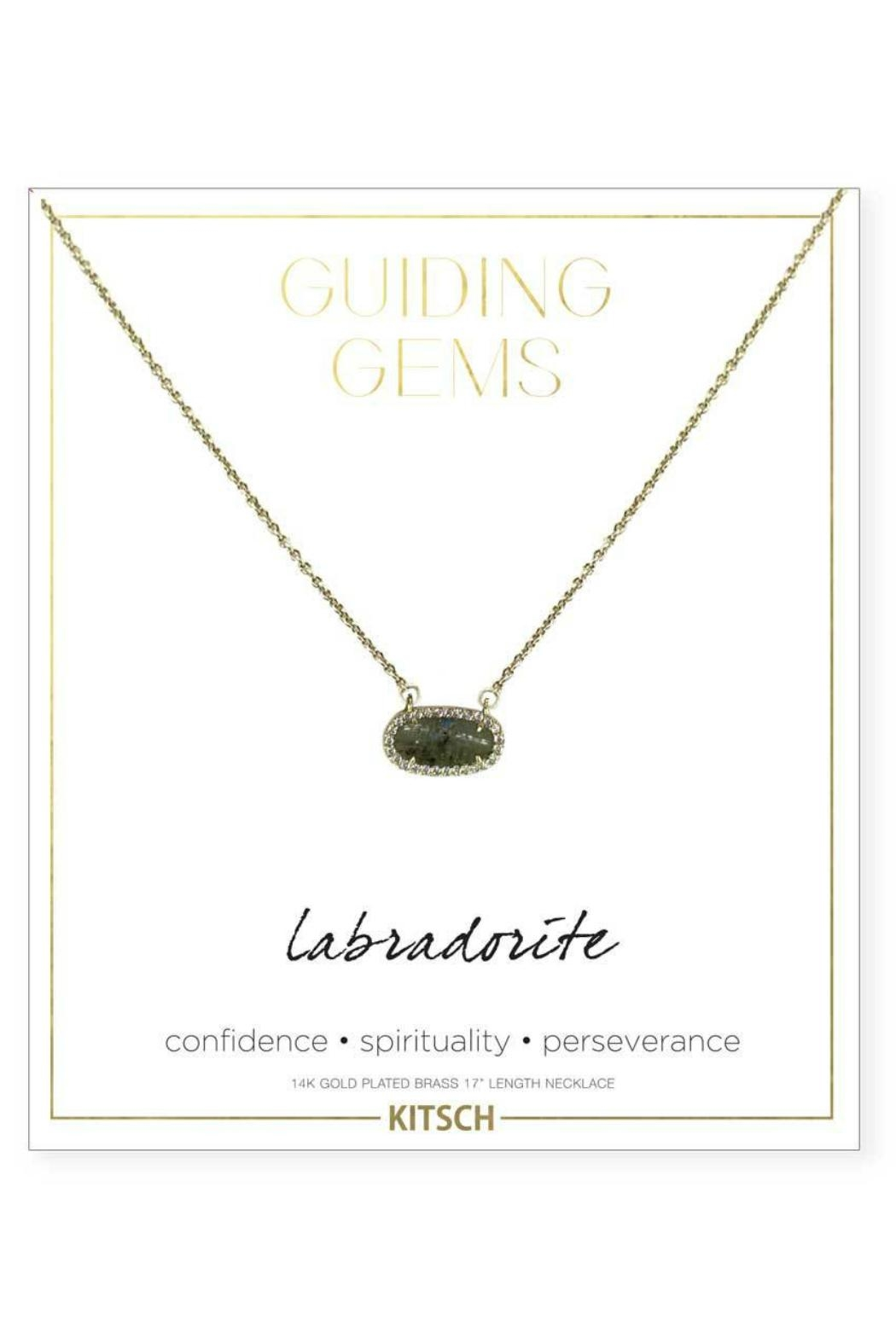 Kitsch Guiding Gems Necklace - Front Cropped Image