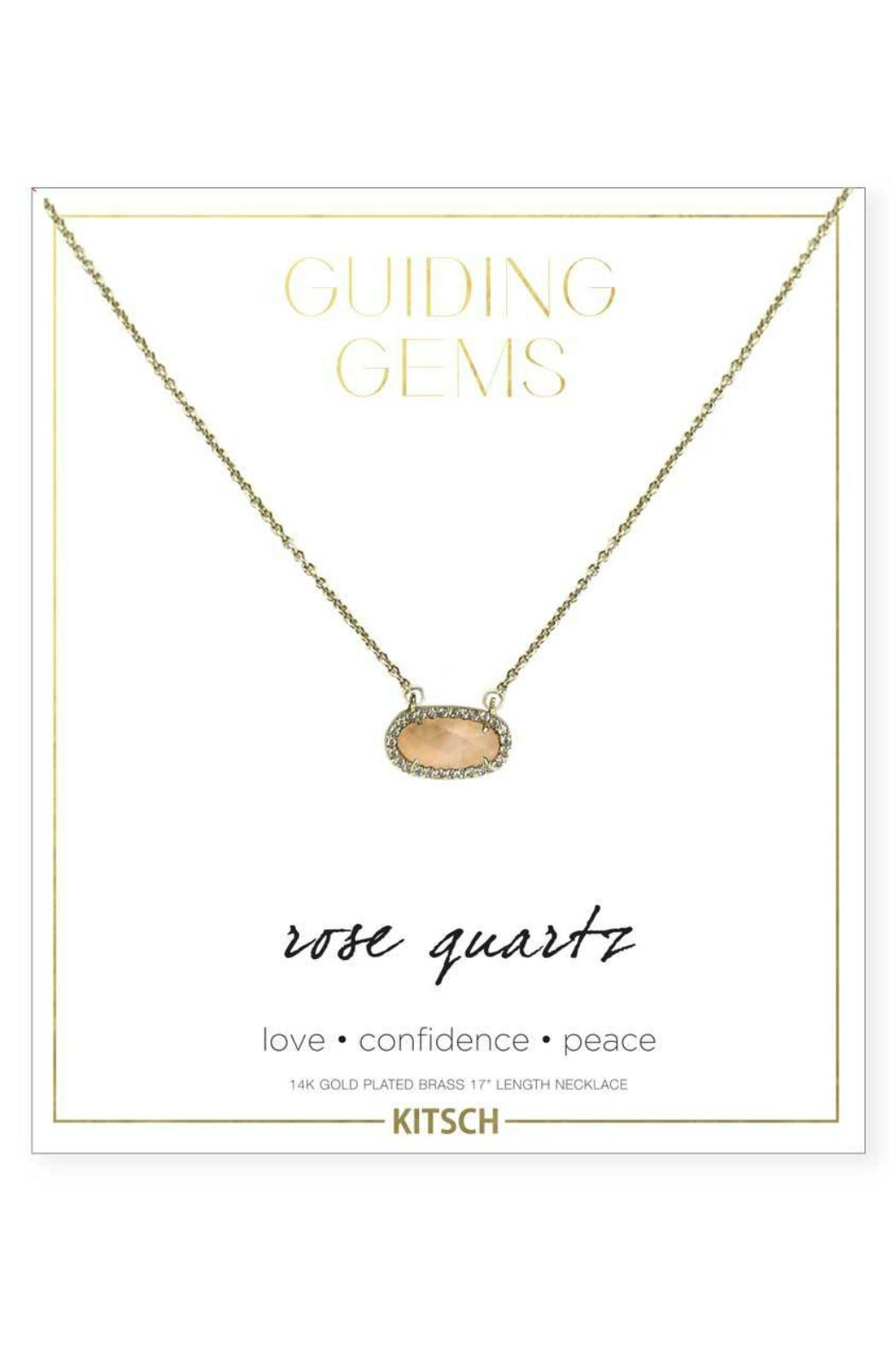 Kitsch Guiding Gems Necklace - Main Image