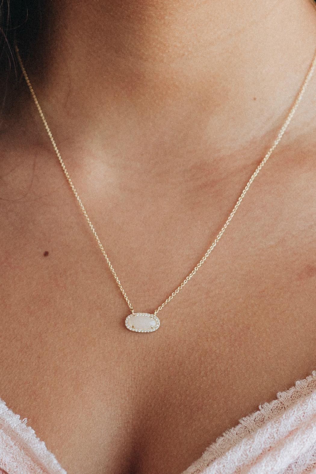 Kitsch Guiding Gems Necklace - Front Full Image