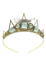Loschy Guinevere Green Tiara - Product Mini Image