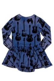 Rock Your Baby Guitar Baby Dress - Front full body