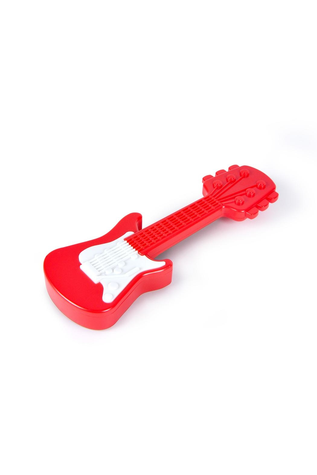 Fred & Friends Guitar Baby Rattle - Front Full Image